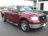 2006 Dark Toreador Red Metallic Ford F150 XLT SuperCrew #50965481