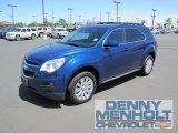 2010 Navy Blue Metallic Chevrolet Equinox LT AWD #50965437