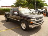 2001 Onyx Black Chevrolet Silverado 1500 LS Extended Cab #50984025