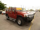 2003 Sunset Orange Metallic Hummer H2 SUV #50984026