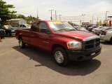2006 Inferno Red Crystal Pearl Dodge Ram 1500 ST Quad Cab #50984020