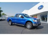 2011 Blue Flame Metallic Ford F150 XLT SuperCab 4x4 #50988943