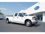 2005 Oxford White Ford F350 Super Duty Lariat Crew Cab 4x4 Dually #50988944