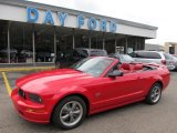 2005 Torch Red Ford Mustang GT Premium Convertible #50998103