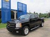 2011 Black Chevrolet Silverado 1500 LTZ Extended Cab 4x4 #50998111