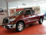 2010 Radiant Red Toyota Tundra TRD Double Cab 4x4 #50998876