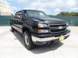 2006 Black Chevrolet Silverado 1500 LT Crew Cab #50998370