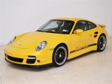 2007 Speed Yellow Porsche 911 Turbo Coupe #50997584