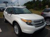 2011 White Platinum Tri-Coat Ford Explorer XLT #50998153