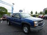 2004 Arrival Blue Metallic Chevrolet Silverado 1500 Z71 Extended Cab 4x4 #50998157