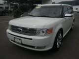 2010 White Platinum Tri-Coat Metallic Ford Flex Limited AWD #50997936