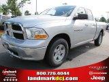 2011 Bright Silver Metallic Dodge Ram 1500 SLT Quad Cab #50998196