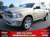 2011 White Gold Dodge Ram 1500 Big Horn Quad Cab #50998198