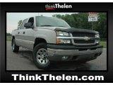 2005 Sandstone Metallic Chevrolet Silverado 1500 LS Crew Cab 4x4 #50998921