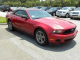 2011 Red Candy Metallic Ford Mustang V6 Premium Convertible #50998435