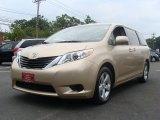 2011 Sandy Beach Metallic Toyota Sienna LE #50998934