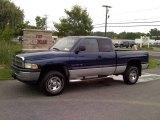 2001 Patriot Blue Pearl Dodge Ram 1500 ST Club Cab 4x4 #50998447