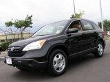 2007 Nighthawk Black Pearl Honda CR-V LX 4WD #50998946