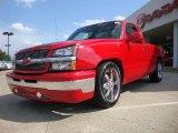 2004 Chevrolet Silverado 1500 LS Regular Cab Front 3/4 View