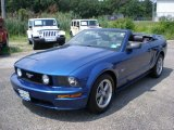 2006 Vista Blue Metallic Ford Mustang GT Premium Convertible #50997975