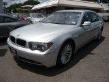 2003 Titanium Silver Metallic BMW 7 Series 745Li Sedan #50998228