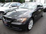 2008 Jet Black BMW 3 Series 335xi Sedan #50998230