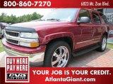 2004 Sport Red Metallic Chevrolet Tahoe LT #50998959