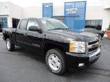 2011 Black Chevrolet Silverado 1500 LT Extended Cab 4x4 #50998239