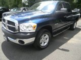 2008 Patriot Blue Pearl Dodge Ram 1500 TRX4 Quad Cab 4x4 #50998464