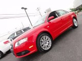 2008 Brilliant Red Audi A4 2.0T quattro S-Line Sedan #50997988