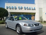 2003 Silver Metallic Ford Mustang V6 Coupe #5083118