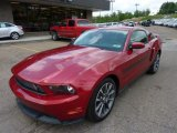 2011 Ford Mustang Red Candy Metallic