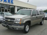 2003 Light Pewter Metallic Chevrolet Silverado 1500 LS Extended Cab 4x4 #50998267
