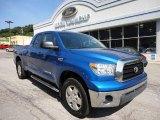2008 Blue Streak Metallic Toyota Tundra SR5 TRD Double Cab 4x4 #50998281