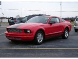 2007 Torch Red Ford Mustang V6 Deluxe Coupe #5084136