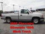 2005 Silver Birch Metallic Chevrolet Silverado 1500 Regular Cab #50999002