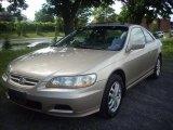 2002 Naples Gold Metallic Honda Accord EX V6 Coupe #50998301