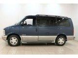2000 Chevrolet Astro Medium Cadet Blue Metallic