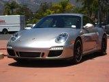 2012 Platinum Silver Metallic Porsche 911 Carrera GTS Coupe #50998056