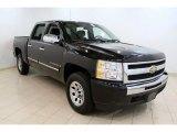 2009 Black Chevrolet Silverado 1500 LT Crew Cab 4x4 #50998773