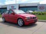 2003 Electric Red BMW 3 Series 325i Sedan #50998781