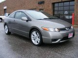 2006 Galaxy Gray Metallic Honda Civic Si Coupe #5076693