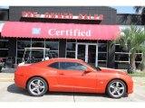 2010 Inferno Orange Metallic Chevrolet Camaro SS Coupe Indianapolis 500 Pace Car Special Edition #50998076