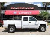 2003 Summit White GMC Sierra 2500HD SLE Extended Cab #50998084