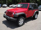 2011 Flame Red Jeep Wrangler Sport S 4x4 #50998793