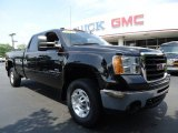 Onyx Black GMC Sierra 2500HD in 2007