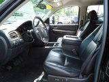 2007 GMC Sierra 2500HD SLT Crew Cab 4x4 Ebony Black Interior