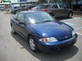 2002 Indigo Blue Metallic Chevrolet Cavalier LS Coupe #50998340