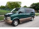 2002 Chevrolet Astro Dark Forest Green Metallic