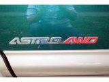 2002 Chevrolet Astro LT AWD Marks and Logos